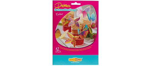 Dekoback - Essbare Schmetterlinge