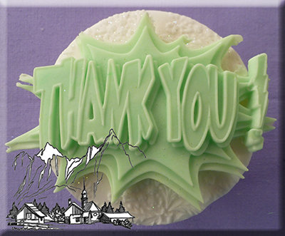 Silikonform - Moulds - Thank you
