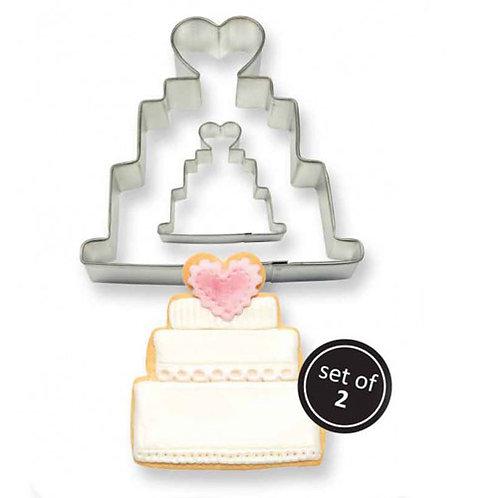 PME Ausstecher 2er Set - Hochzeitstorten