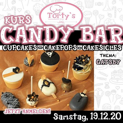 Torty`s - Candy Bar Kurs - Thema: Gatsby - 19.12.20
