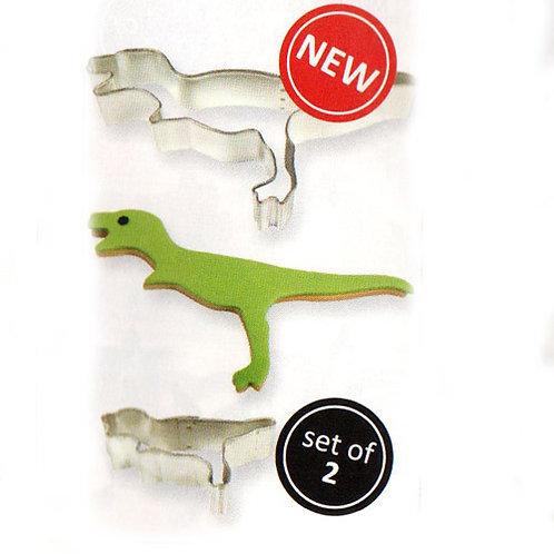 PME Ausstecher 2er Set - Dinosaurier
