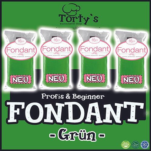 Torty`s Fondant - 1kg - Grün