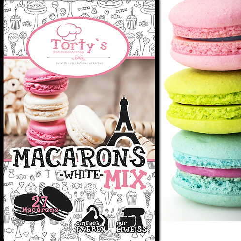 Tortys - Macarons Mix - Weiss