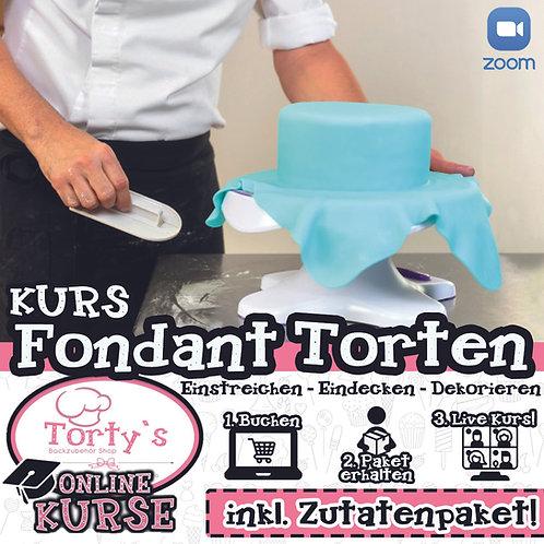 Torty`s - ONLINE Fondant-Torten Kurs - 24.01.21
