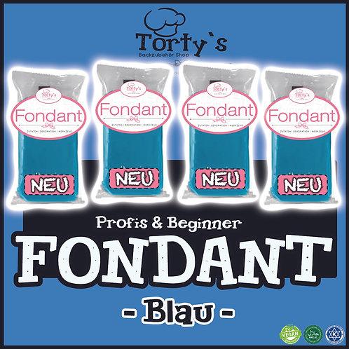 Torty`s Fondant - 1kg - Blau