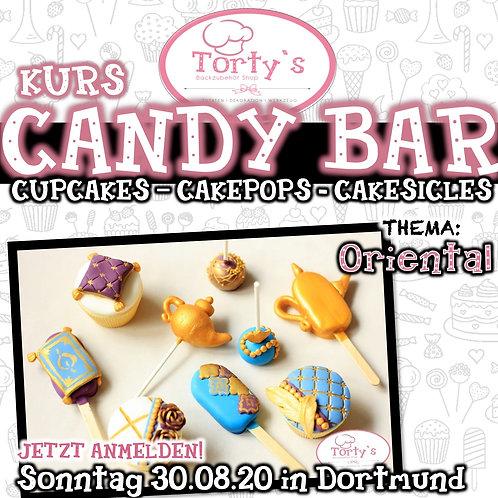 Torty`s - Candy Bar Kurs - Thema: Oriental - 30.08.20