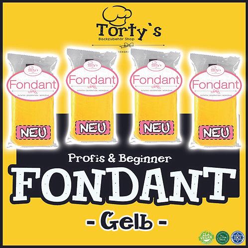 Torty`s Fondant - 1kg - Gelb