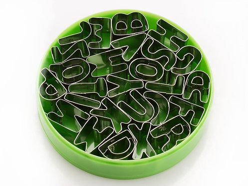 Metall - Buchstaben Ausstech Set