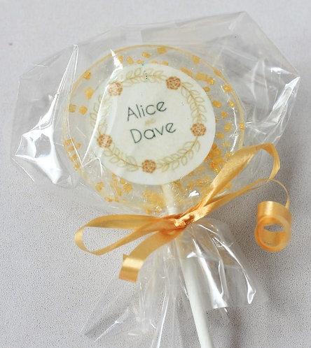 Lolly - Hochzeit - Namen und Sprinkles