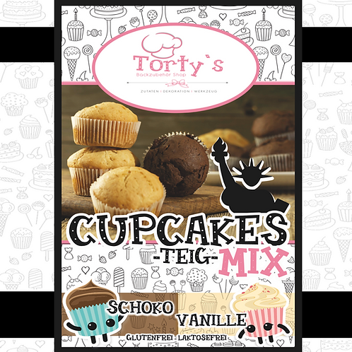 Torty`s Cupcake Mix - Vanille 1kg