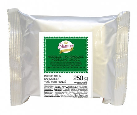 Modellier Schokolade - 250g - Grün