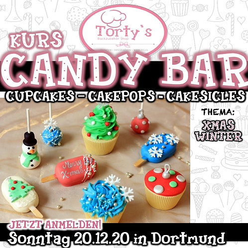 Torty`s - Candy Bar Kurs - Thema: Winter - 20.12.20
