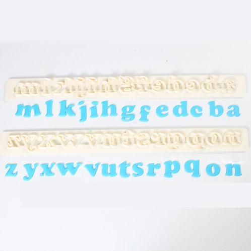 FMM Buchstaben Ausstecher Deco Art Klein
