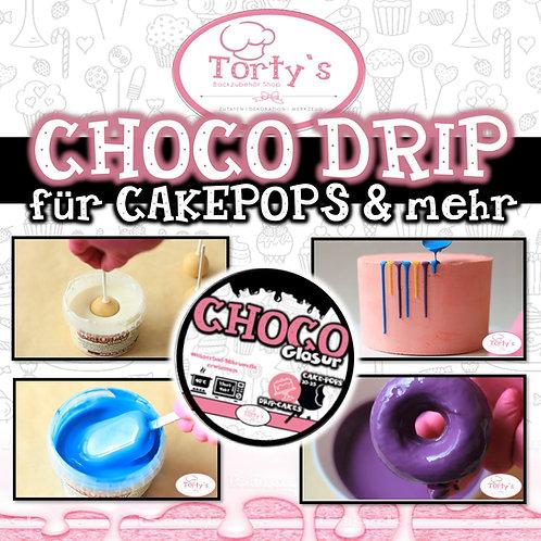 Choco Drip Glasur - für CakePops, DripCakes und mehr