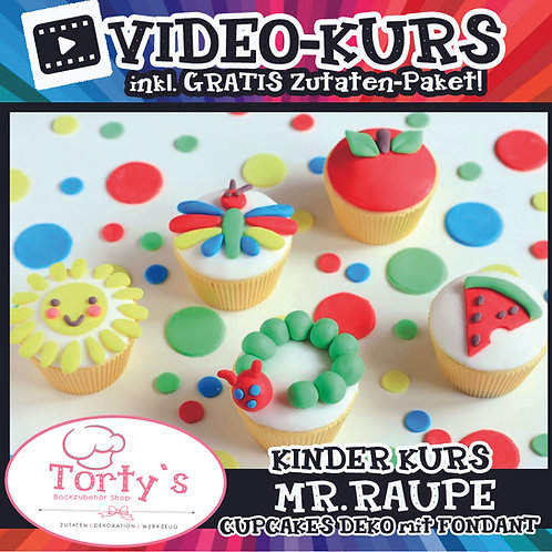 Tortys KinderKurs-Box mit GRATIS Video - All Inclusive - Raupe