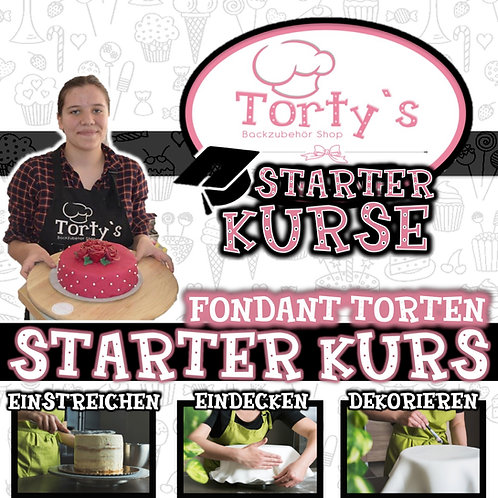 Torty`s - Fondant Starter Kurs - SO 07.02.21
