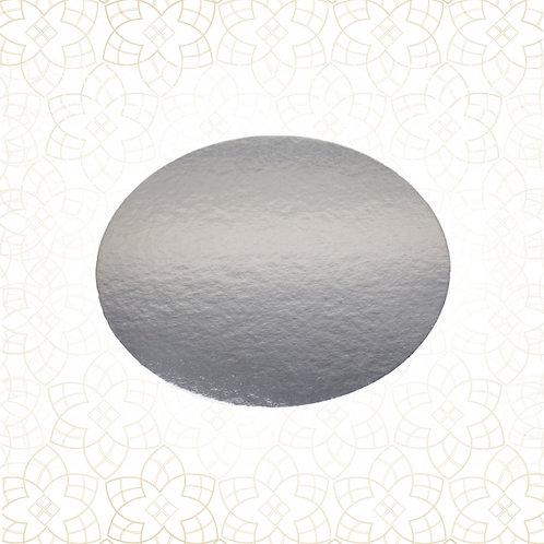 Tortys - Tortenplatte Silber - Rund Dünn