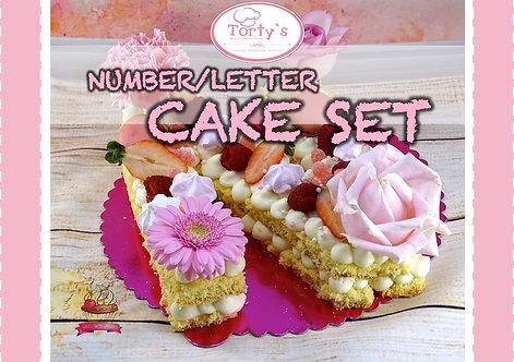 Torty`s - N & L Cake Set