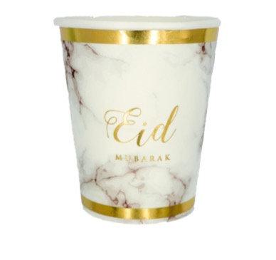 Eid Bayram - 6 Becher - Marmor