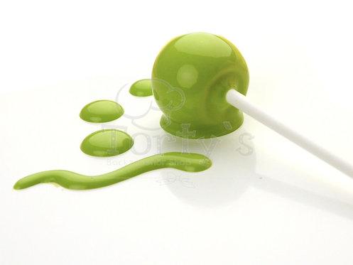 Choco Drip Glasur - Hellgrün - für CakePops, DripCakes und mehr
