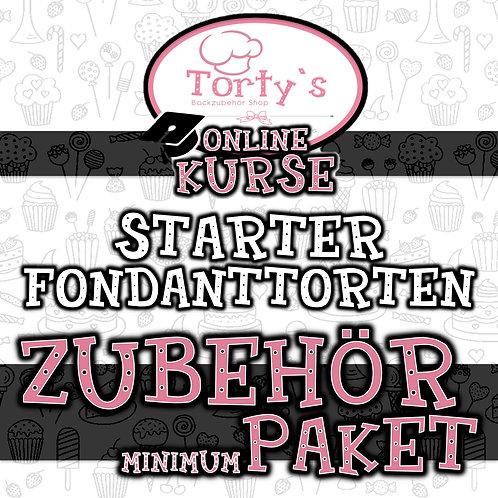Torty`s - ZUBEHÖR PAKET Minimum - ONLINE Kurs - Starter Fondanttorten