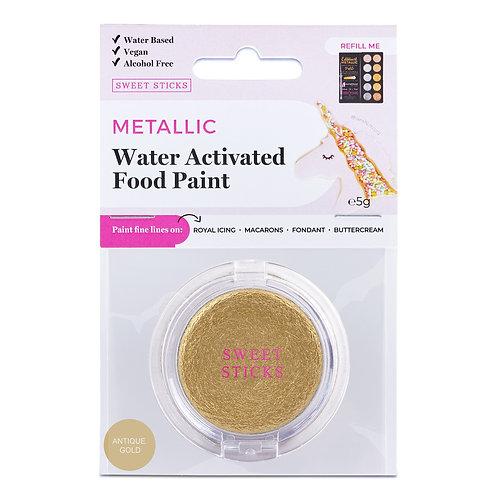 Essbare Farbe - Metallic - Antique Gold