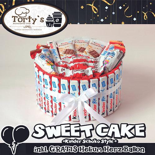 Sweet Cake - Kinder Schokoladen Style