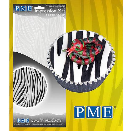 PME Impression Mat Zebra