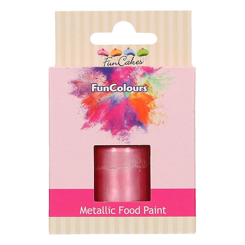 Funcakes - Flüssig Farblack - Baby Pink