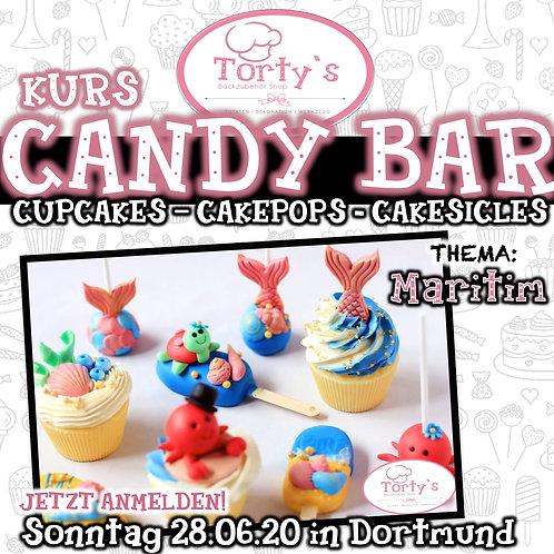 Torty`s - Candy Bar Kurs - Thema: Maritim - 28.06.20
