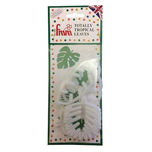 FMM - Ausstecher Set - Tropical Blätter - Dino & Co