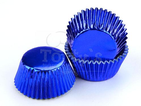 Muffin/Cupcake Förmchen Alu Blau 60 Stück