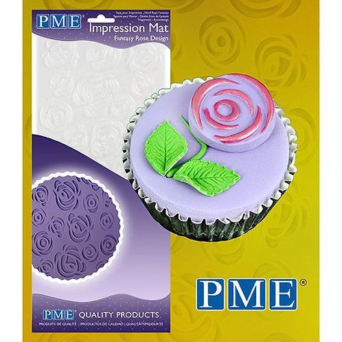 PME Impression Mat Fantasy Rose