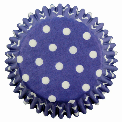 Muffin/Cupcake Förmchen PME Gepunktet Blau 60 Stück