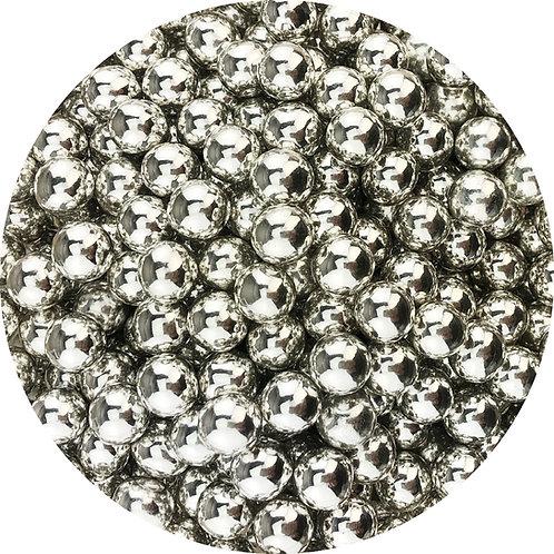 Tortys - Choco Balls - Silber Glänzend 100g