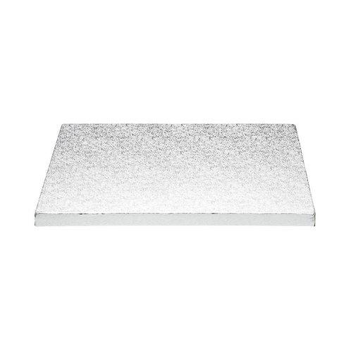 Cake Drum - Tortenunterlage quadrat - Silber - 20cm