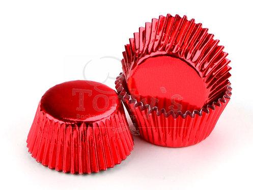 Muffin/Cupcake Förmchen Alu Rot 60 Stück