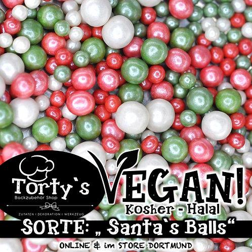 Tortys - Vegane Streusel - Santa`s Balls - 100g