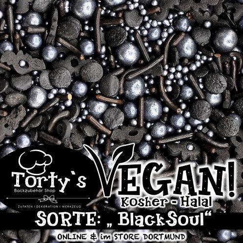 Tortys - Vegane Streusel - Black Soul - 100g
