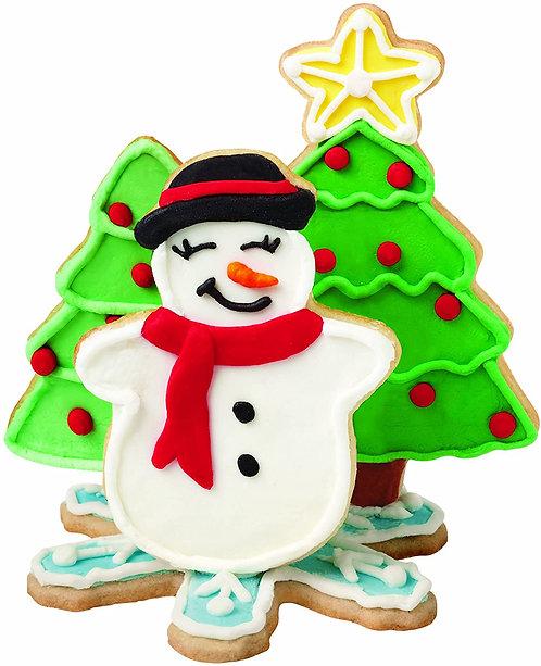Wilton Ausstecher - Set - 4er - Snowman