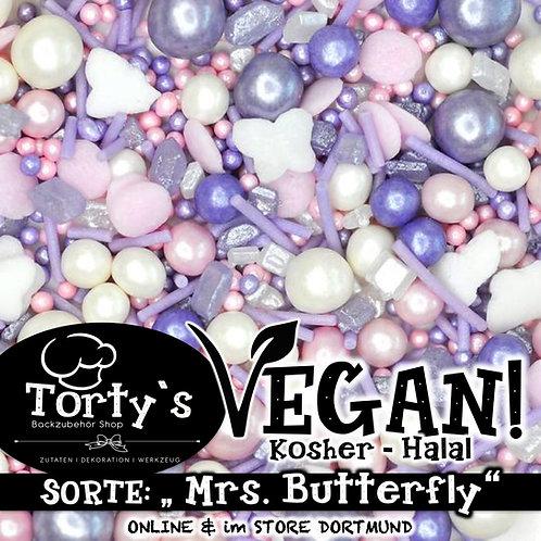 Tortys - Vegane Streusel - Mrs Butterfly - 100g