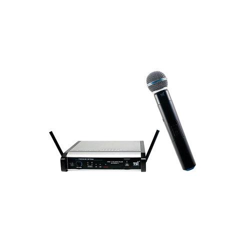 MICROFONE SEM FIO TSI MS-115 UHF PLUS