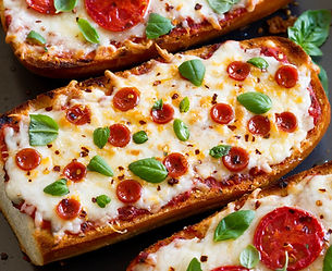 пица върху филия-бързи закуски-бърза закуска-lubkailievakk.com
