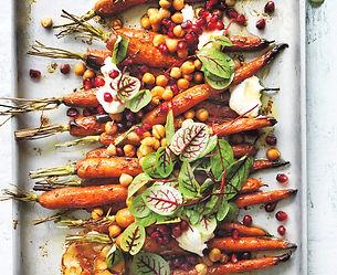 печени моркови с нахут и мед-рецепта с моркови и нахут-веган рецепти-постни рецепти-аламинути-lubkailievakk.com