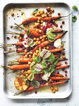 печени моркови с нахут и мед-веган рецепта-веган рецепти-постни рецепти-постна рецепта-постни ястия-постни манджи-рецепти с моркови-рецепти с нахут-нахут-моркови-мед-Любка Илиева-lubkailievakk