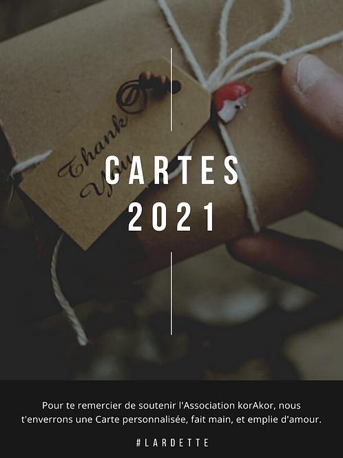 Cartes 2021