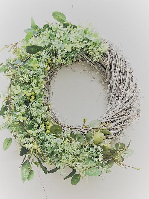 Catkin Scandi Style Large Wreath