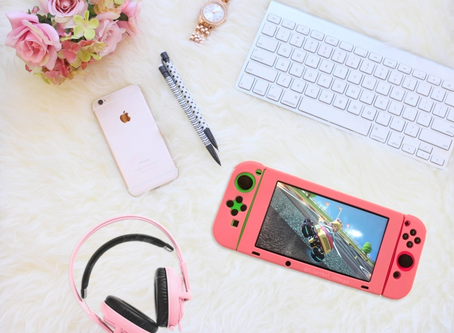 Pink Nintendo Switch Cover Review