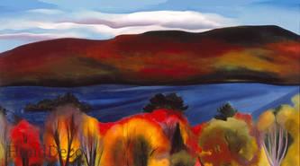Lake George Autumn, 1927
