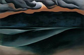 Storm Cloud Lake George, 1923